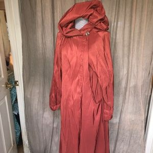 Maralyce Ferree vintage burnt orange opera coat S
